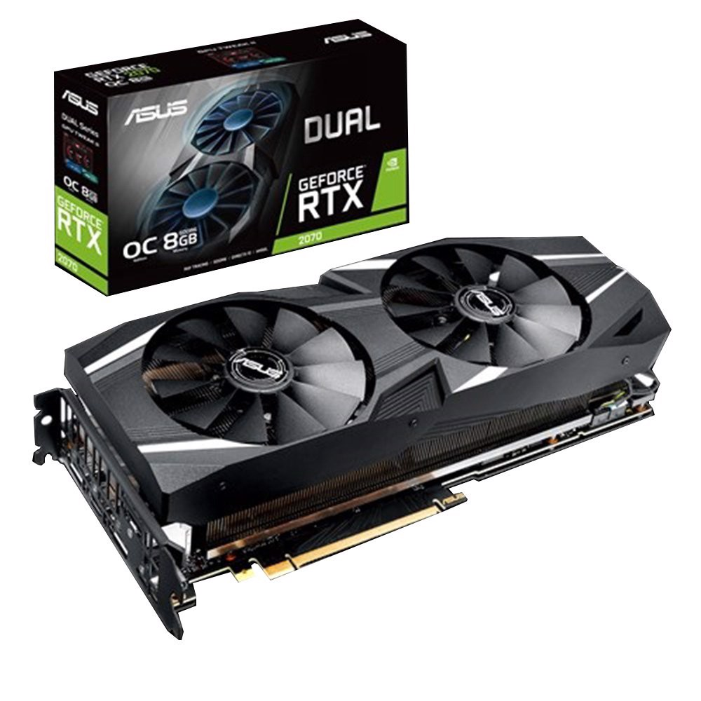 Card Màn Hình ASUS Dual GeForce® RTX 2070 OC edition 8GB GDDR6