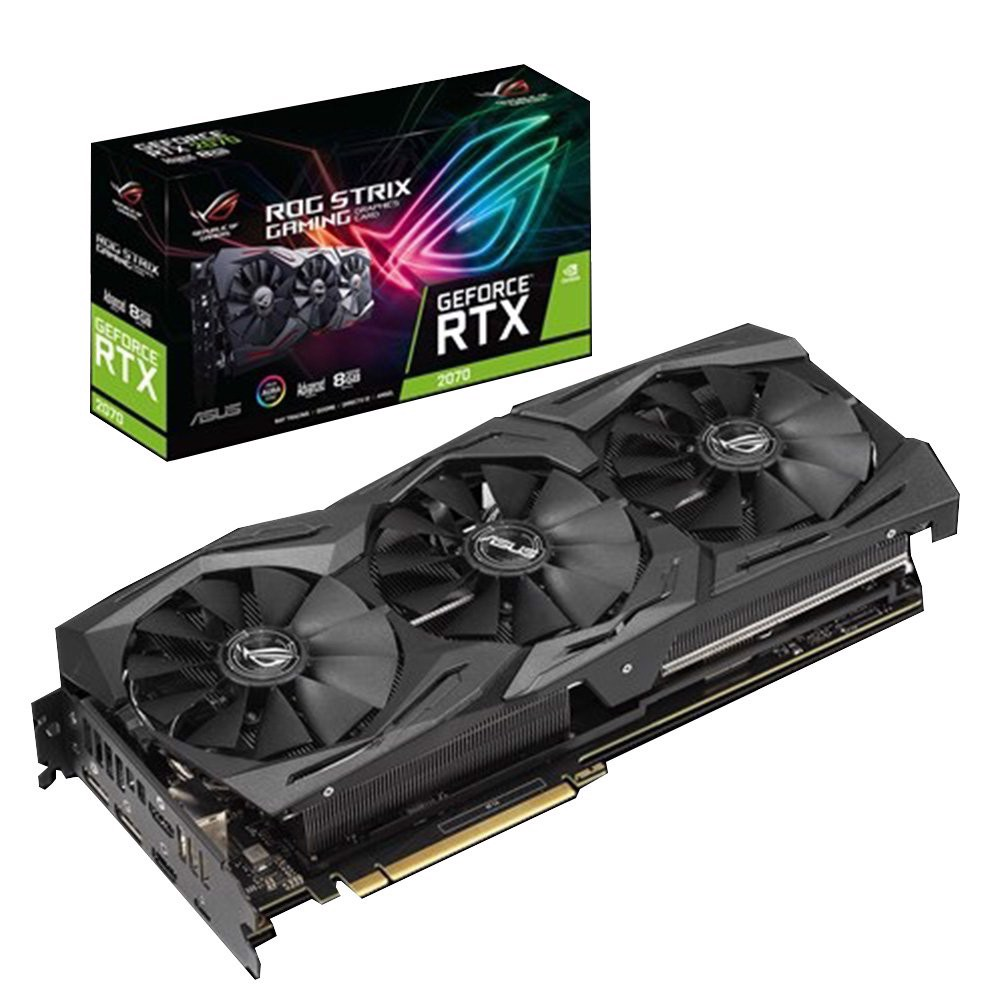 Card Màn Hình ROG Strix GeForce® RTX 2070 Advanced edition 8GB GDDR6