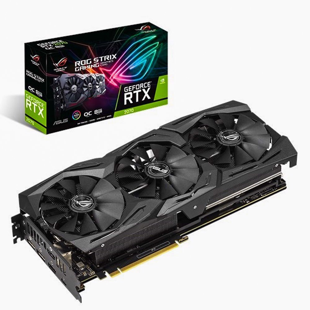 Card Màn Hình ROG Strix GeForce® RTX 2070 OC edition 8GB GDDR6