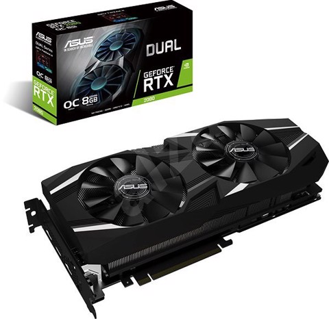 Card Màn Hình ASUS Dual GeForce® RTX 2080 OC edition 8GB GDDR6