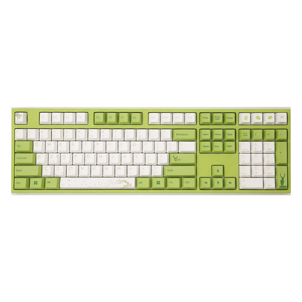 Bàn phím cơ Varmilo VA108M Forest Fairy - Brown Switch