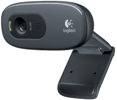 Webcam Logitech C270 Simple 720p video calls
