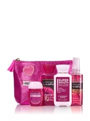 Set Bath & Body Works A Thousand Wishes màu hồng