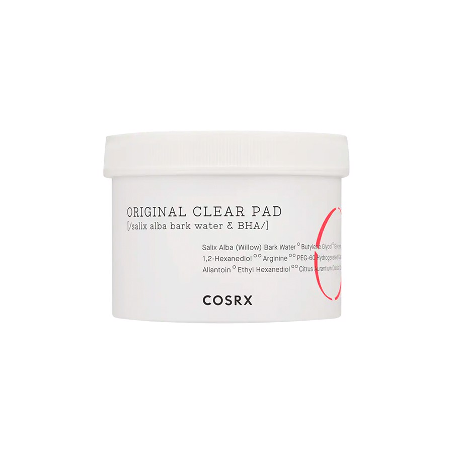 PAD TẨY DA CHẾT COSRX ORIGINAL CLEAR ONE STEP PIMPLE CLEAR PADS 70ea