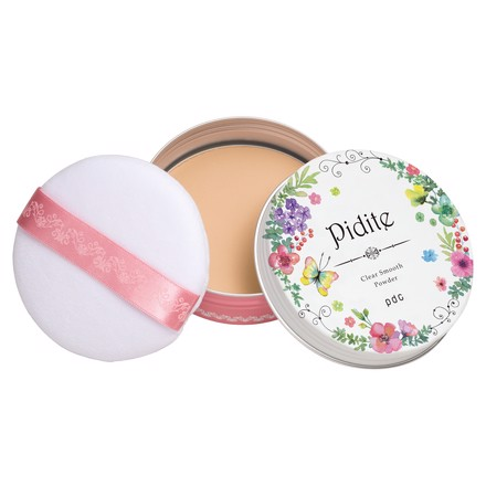 Phấn phủ chống nắng Pidite Clear Smooth Powder Light Beige