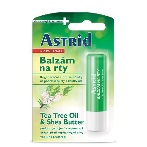 Son dưỡng Astrid Tea Tree & Shea Butter