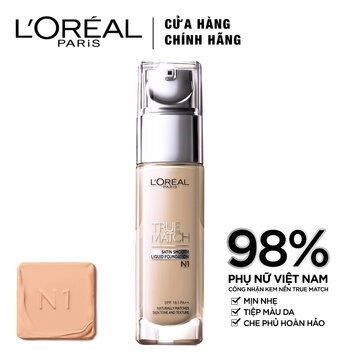 Kem nền L'oreal True Match Satin Smooth Liquid
