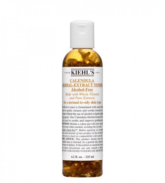Nước hoa hồng hoa cúc Kiehl's Calendula Herbal-Extract Alcohol-Free 125ml