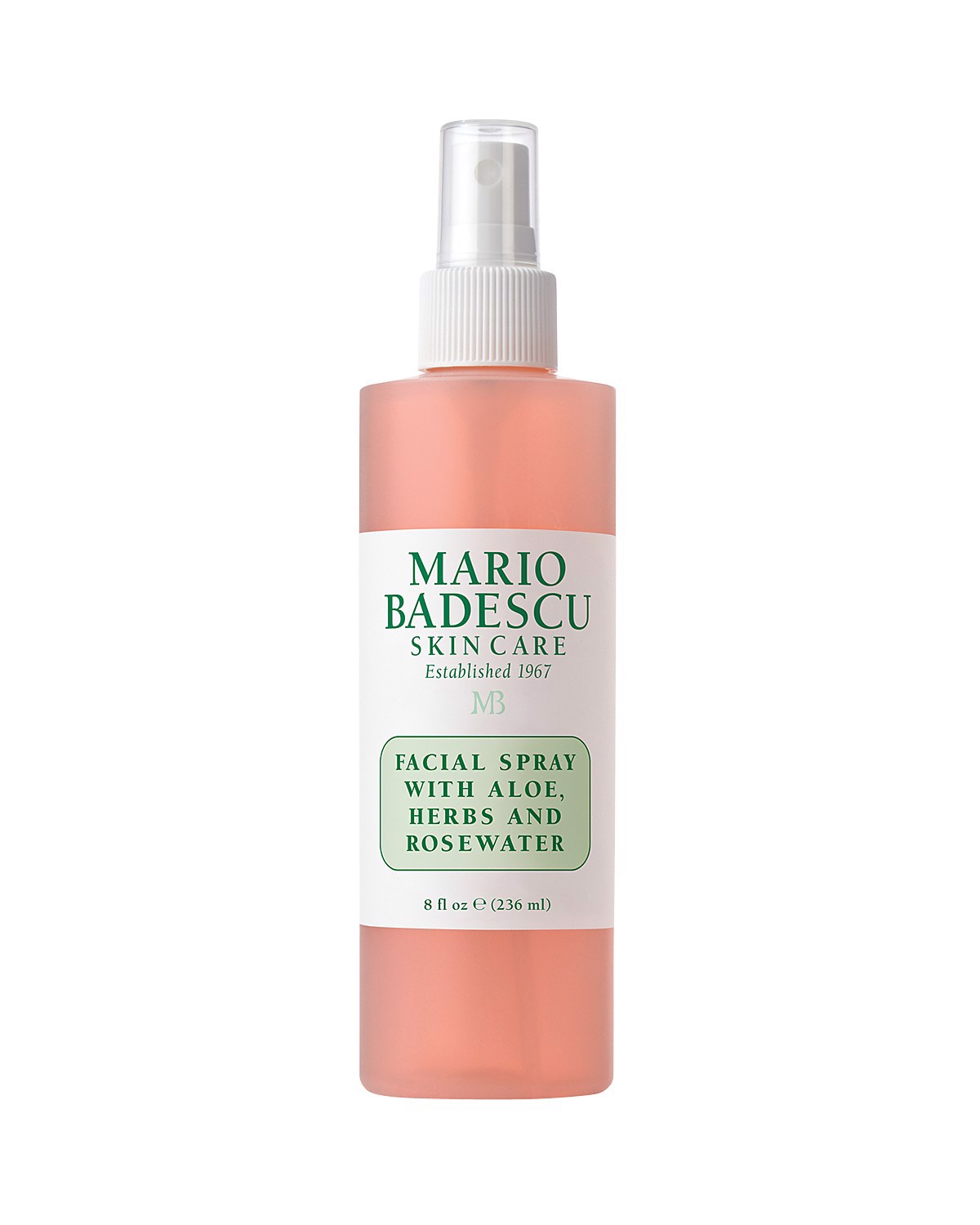 Xịt khoáng Mario Badescu Facial Spray With Aloe, Herbs And Rose Water 236ml