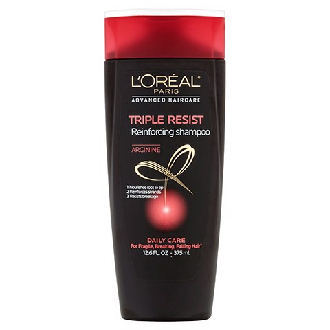Dầu gội L'oreal Triple Resist Reinforcing Shampoo Daily Care For Fragile, Breaking, Falling Hair 750ml