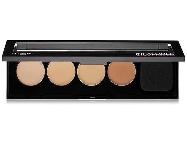 Bảng che khuyết điểm L'oreal Infallible Total Cover 4 ô 220 Concealing & Contour Kit 5g