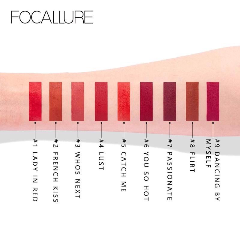 Son màu Focallure Top Secret Velvet Liquid Lipstick