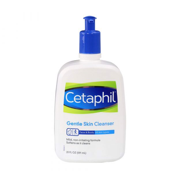 Sữa rửa mặt Cetaphil Gentle Skin Cleanser 2 in 1 Face and Body 591ml