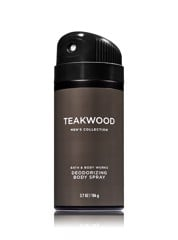 Xịt Toàn Thân Nam Bath & Body Woks Men's Collection Teakwood