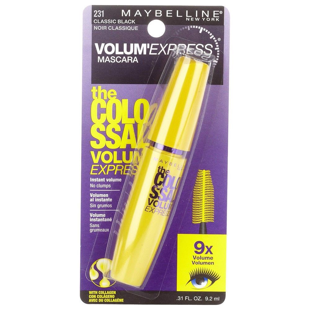 Mascara Maybelline The Colossal Volum' Express 7X 241