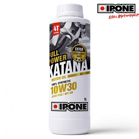 Nhớt IPONE FullPower KATANA 100% synthetic 10W30