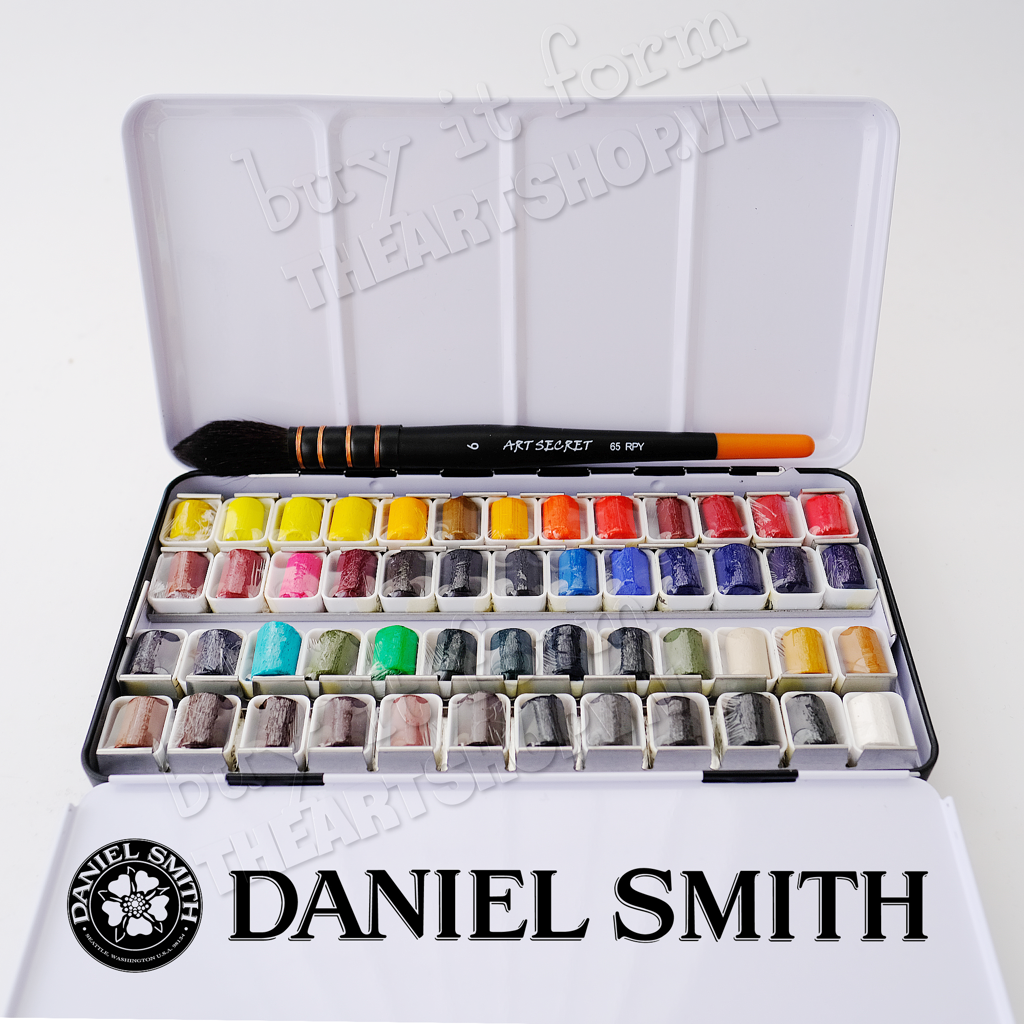 Bộ màu nước DANIEL SMITH dạng stick - DANIEL SMITH Watercolour Sticks 2.4ml Set 12/24/51 (Màu tuỳ chọn)