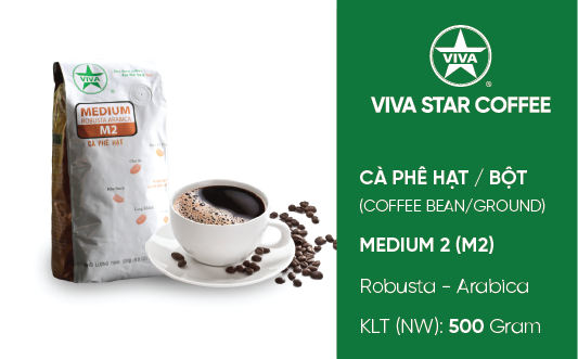 Cà phê Medium – Medium Coffee (M2)