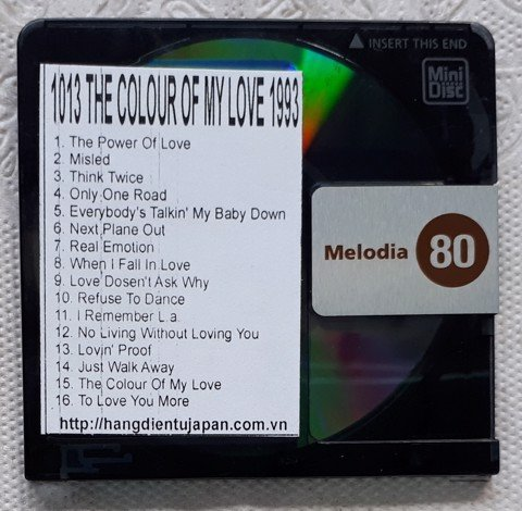1013 1993-CELINE DION - THE COLOUR OF MY LOVE