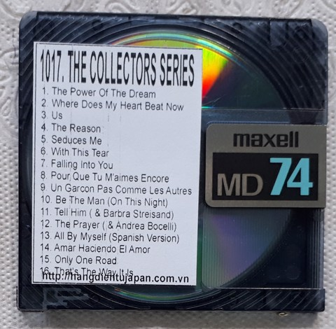 1017 2000-CELINE DION - THE COLLECTORS SERIES VOLUME ONE
