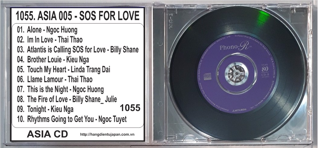 1055. ASIA 005 - SOS FOR LOVE