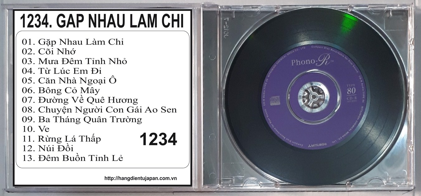 1234. ASIA 180 - TRUONG VU - THE BEST OF - GAP NHAU LAM CHI