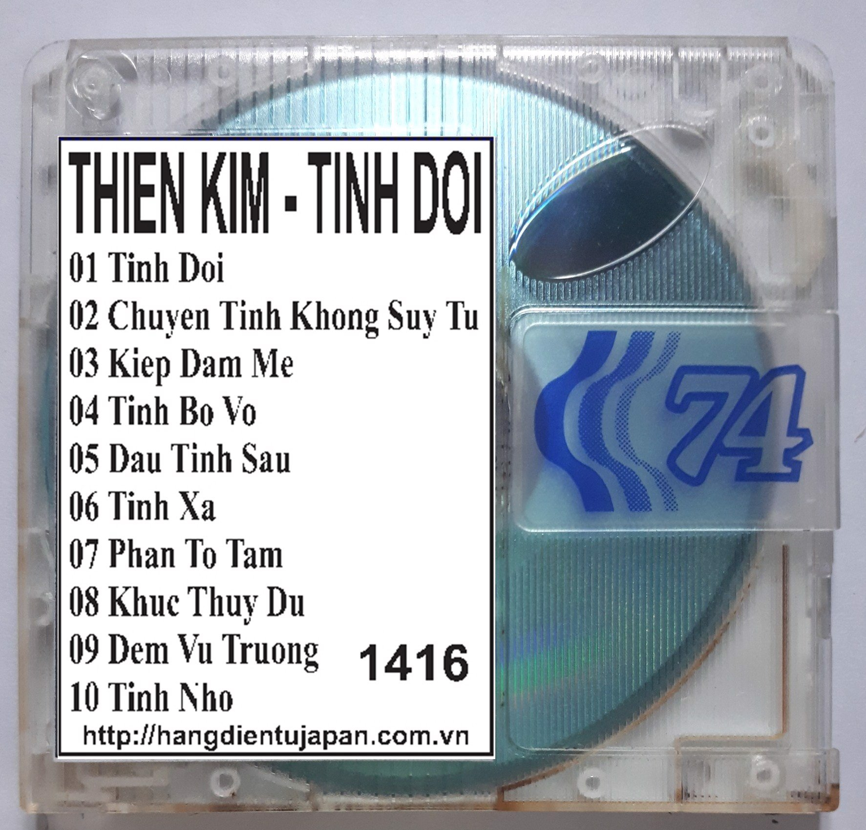 1416. ASIA CS008 - THIEN KIM - TINH DOI