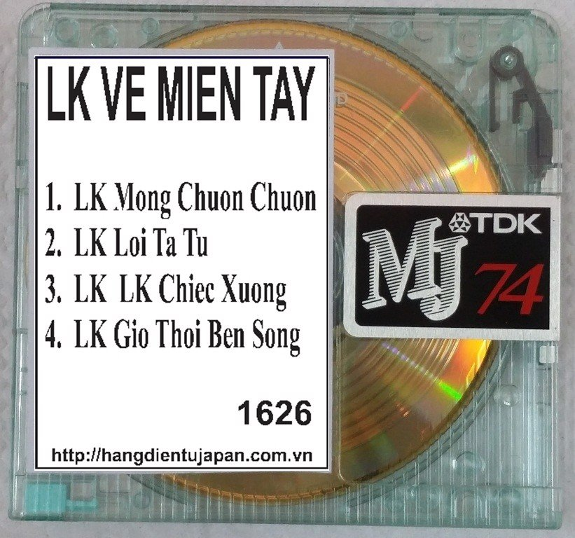 1626. TNCD175 - Lk Ve Mien Tay - Hoang Lan - The Son - My Huyen