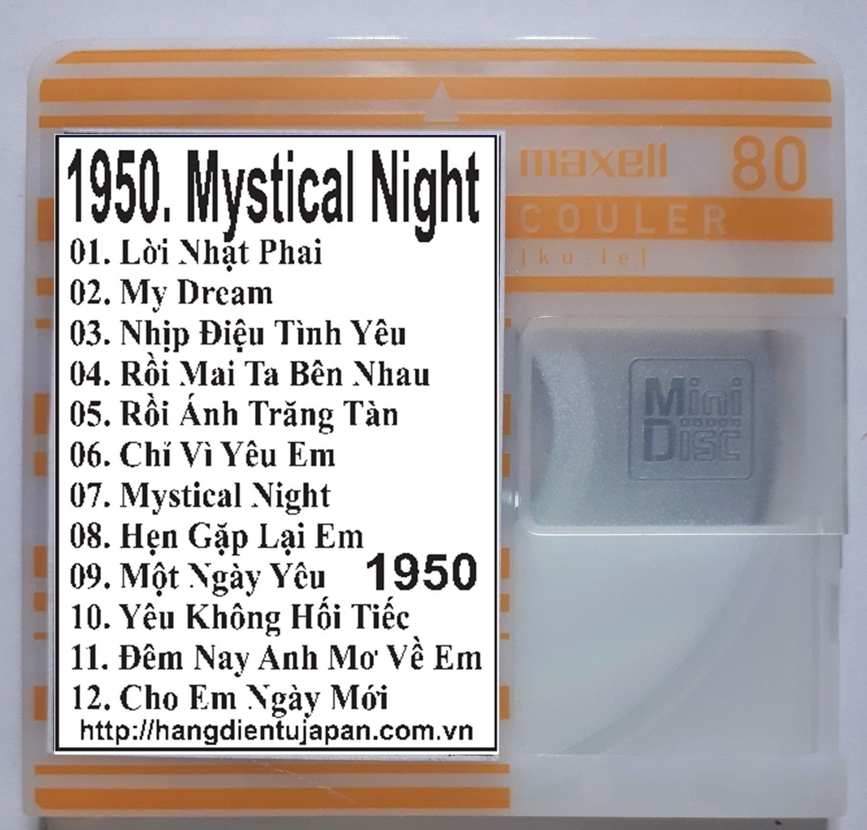 1950. TNCD508 - Mystical Night (toc Tien  - Mai Tien Dung)