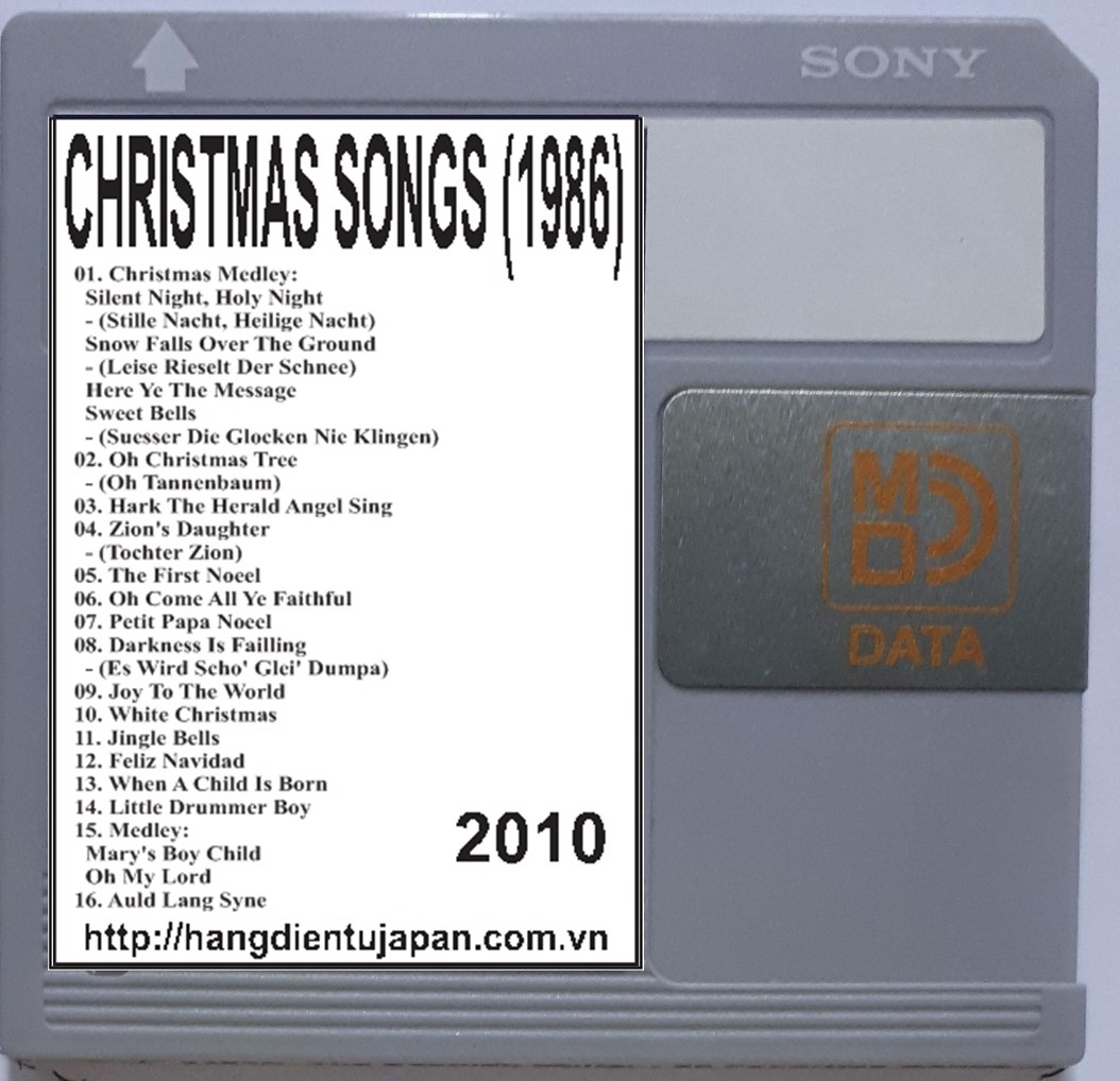 2010. BONEY M.  - THE 20 GREATEST CHRISTMAS SONGS (1986)