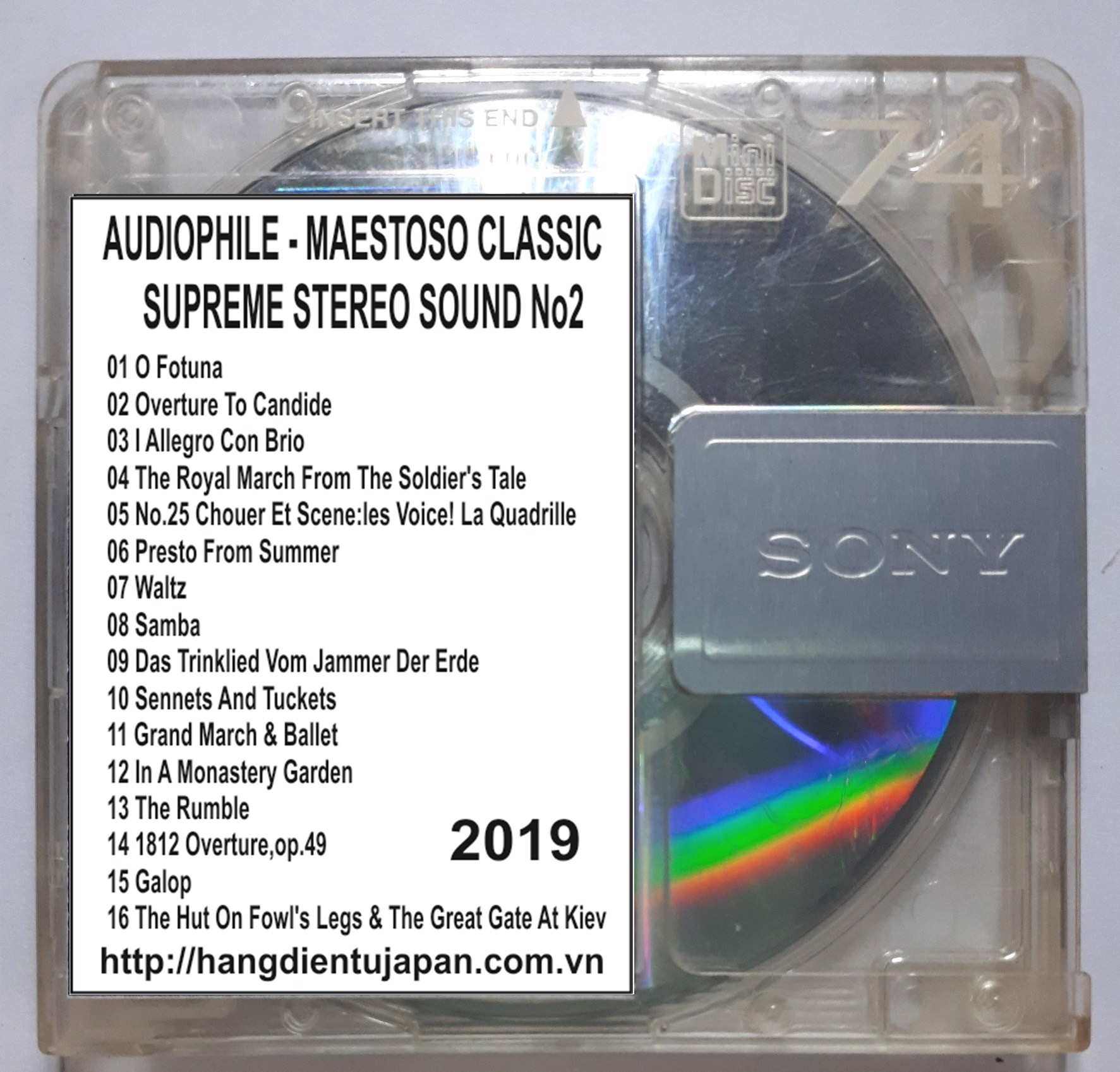 2019. AUDIOPHILE - MAESTOSO CLASSIC - SUPREME STEREO SOUND NO2