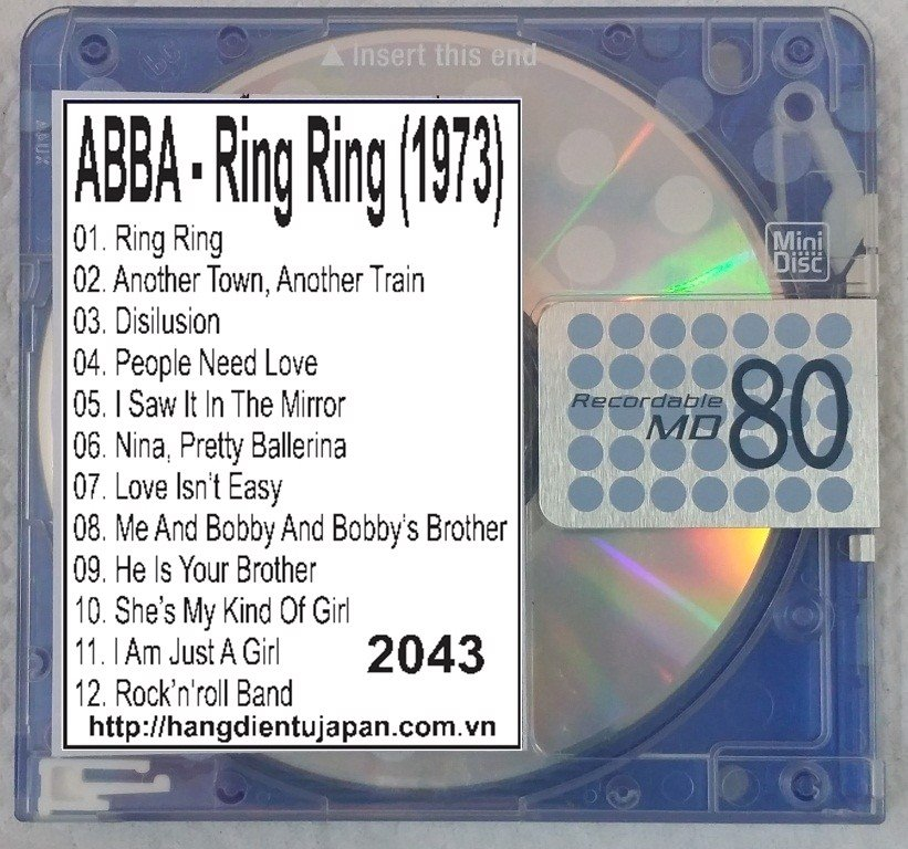 2043. ABBA - Ring Ring (1973)