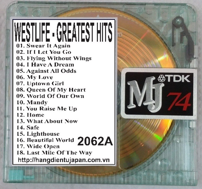2062A. Westlife - Greatest Hits 2CDs (2011)