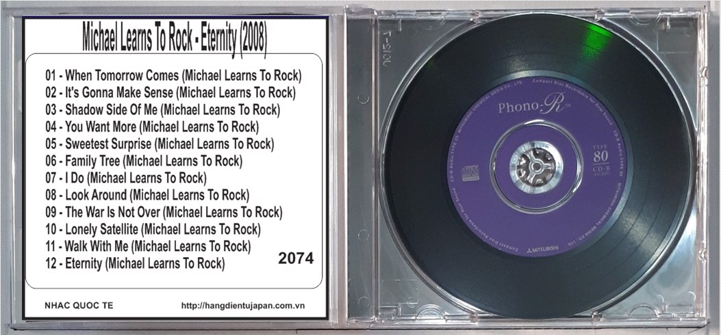 2074. Michael Learns To Rock - Eternity (2008)