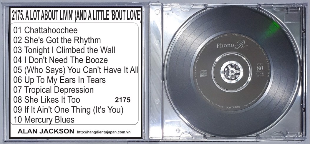 2175. Alan Jackson - A Lot About Livin' (And A Little 'Bout Love)