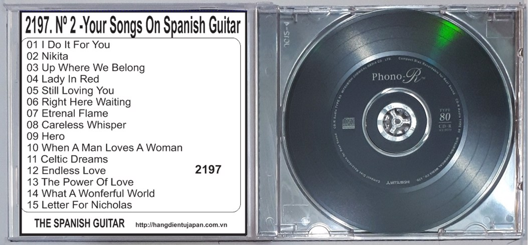 2197. The Spanish Guitar - Nº 2 -Your Songs On Spanish Guitar- (Ambient Lounge For Relaxing)
