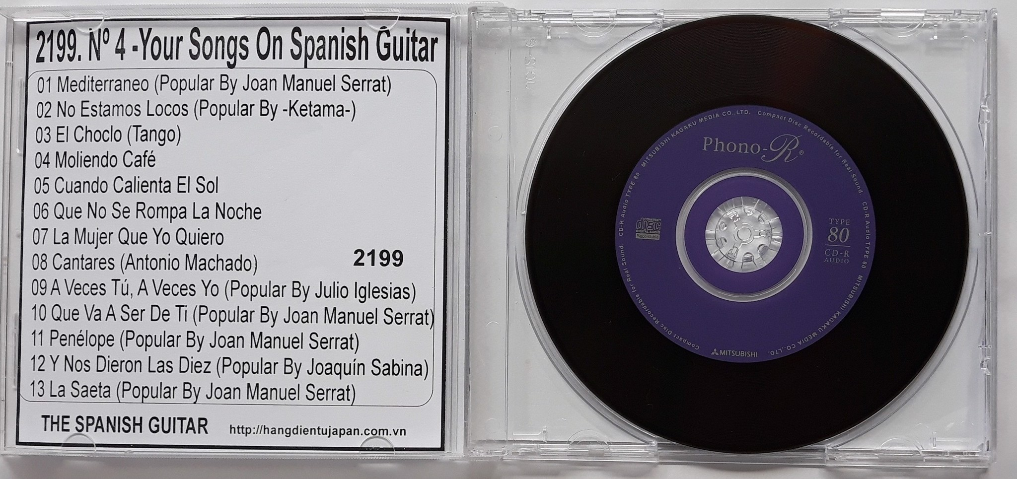 2199. The Spanish Guitar - Nº 4 -Your Songs On Spanish Guitar- (Ambient Lounge For Relaxing)