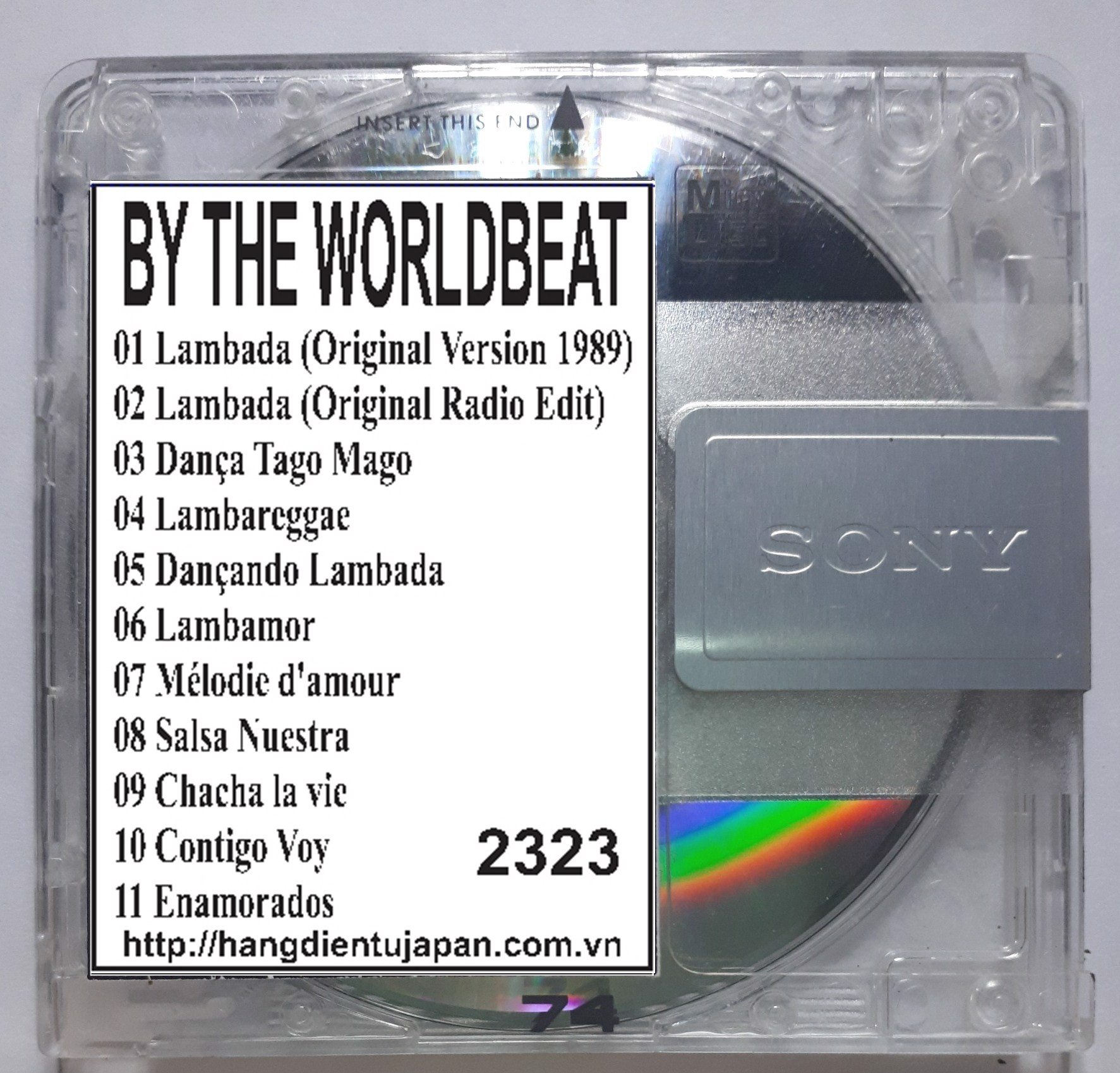 2323.Kaoma - THE -LAMBADA- BY THE WORLDBEAT GROUP KAOMA