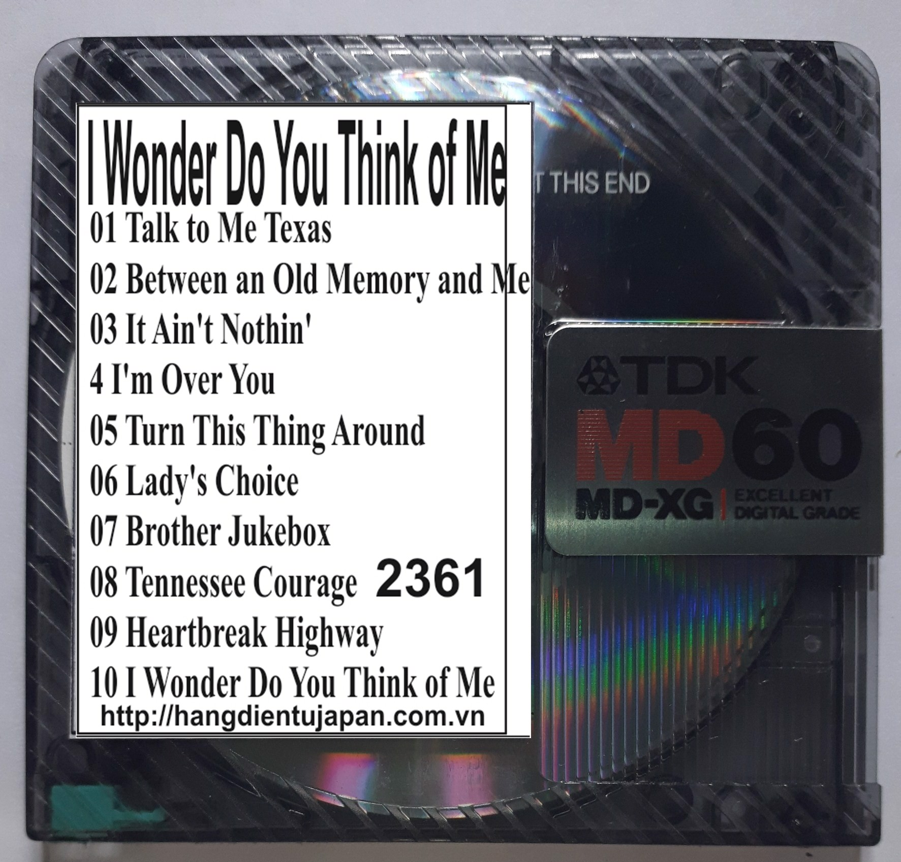 2361.Keith Whitley - I Wonder Do You Think of Me