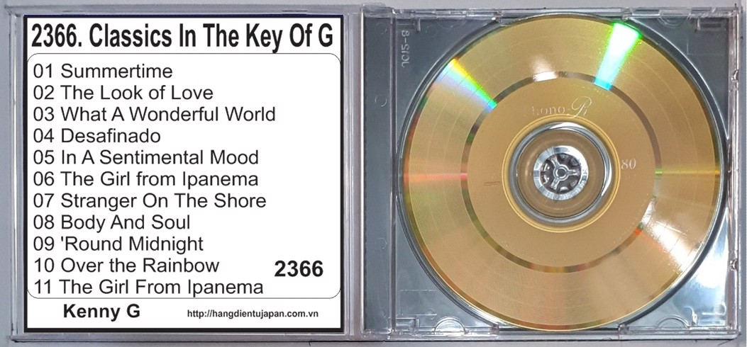 2366. Kenny G - Classics In The Key Of G