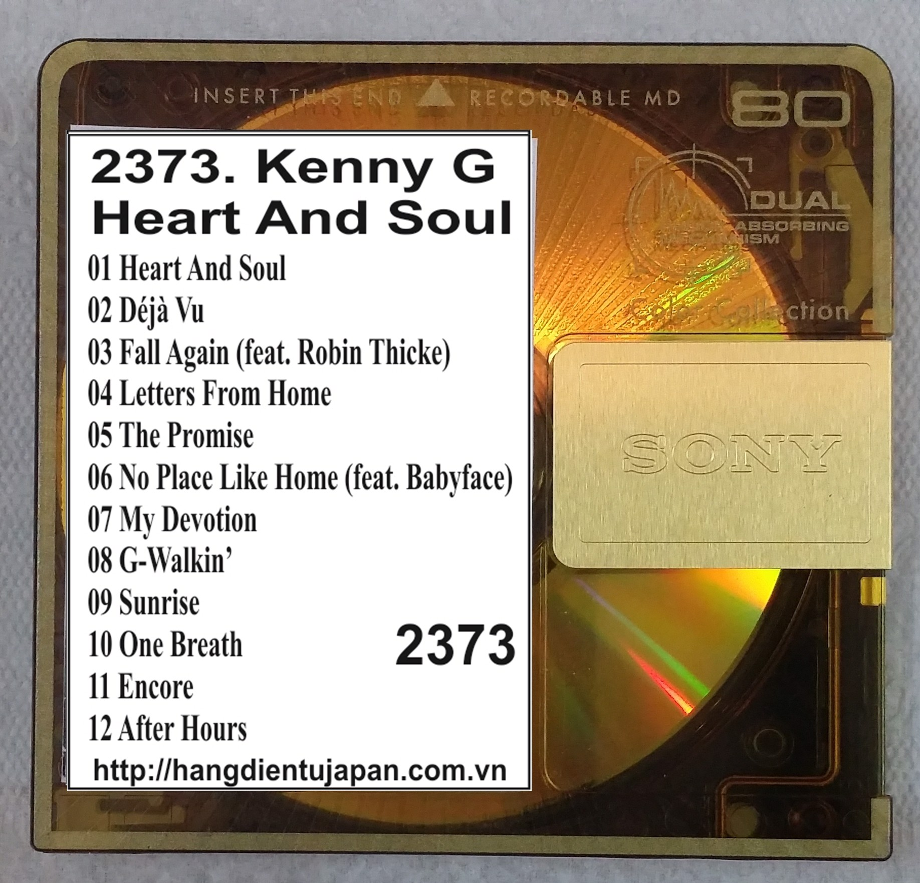 2373. Kenny G - Heart And Soul