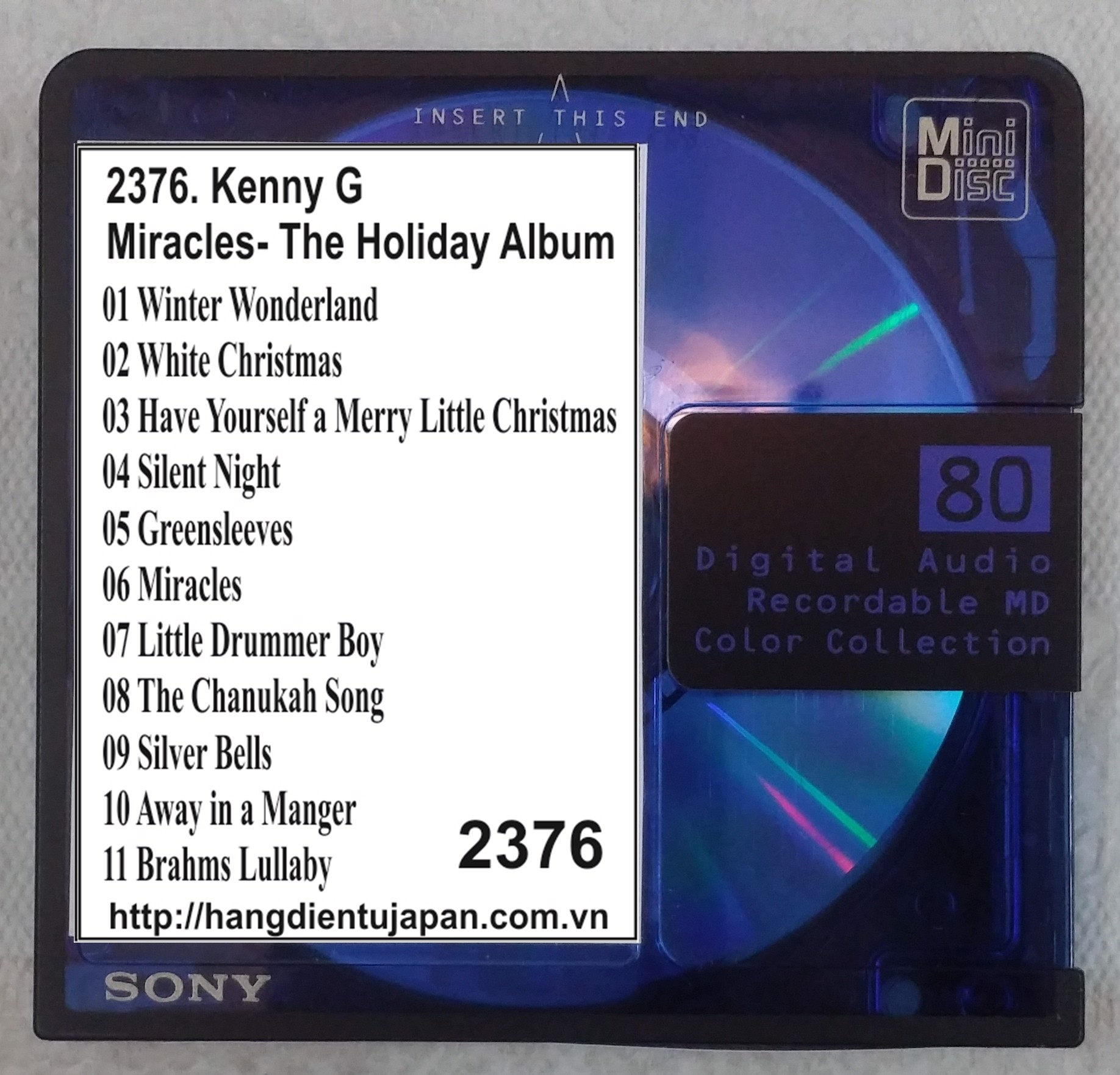 2376. Kenny G - Miracles- The Holiday Album