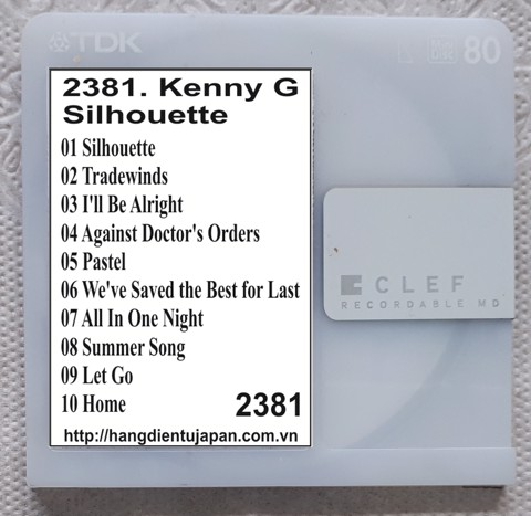 2381. Kenny G - Silhouette