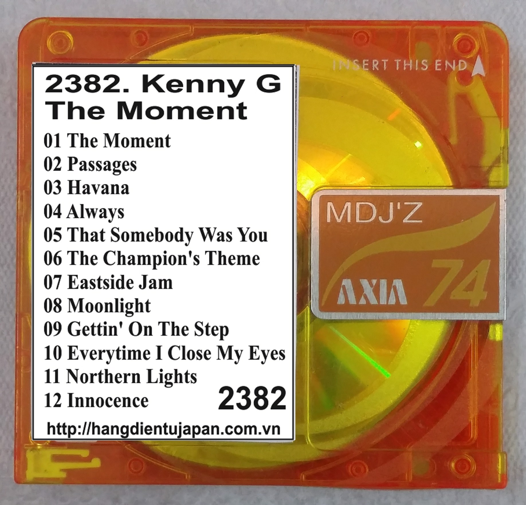 2382. Kenny G - The Moment