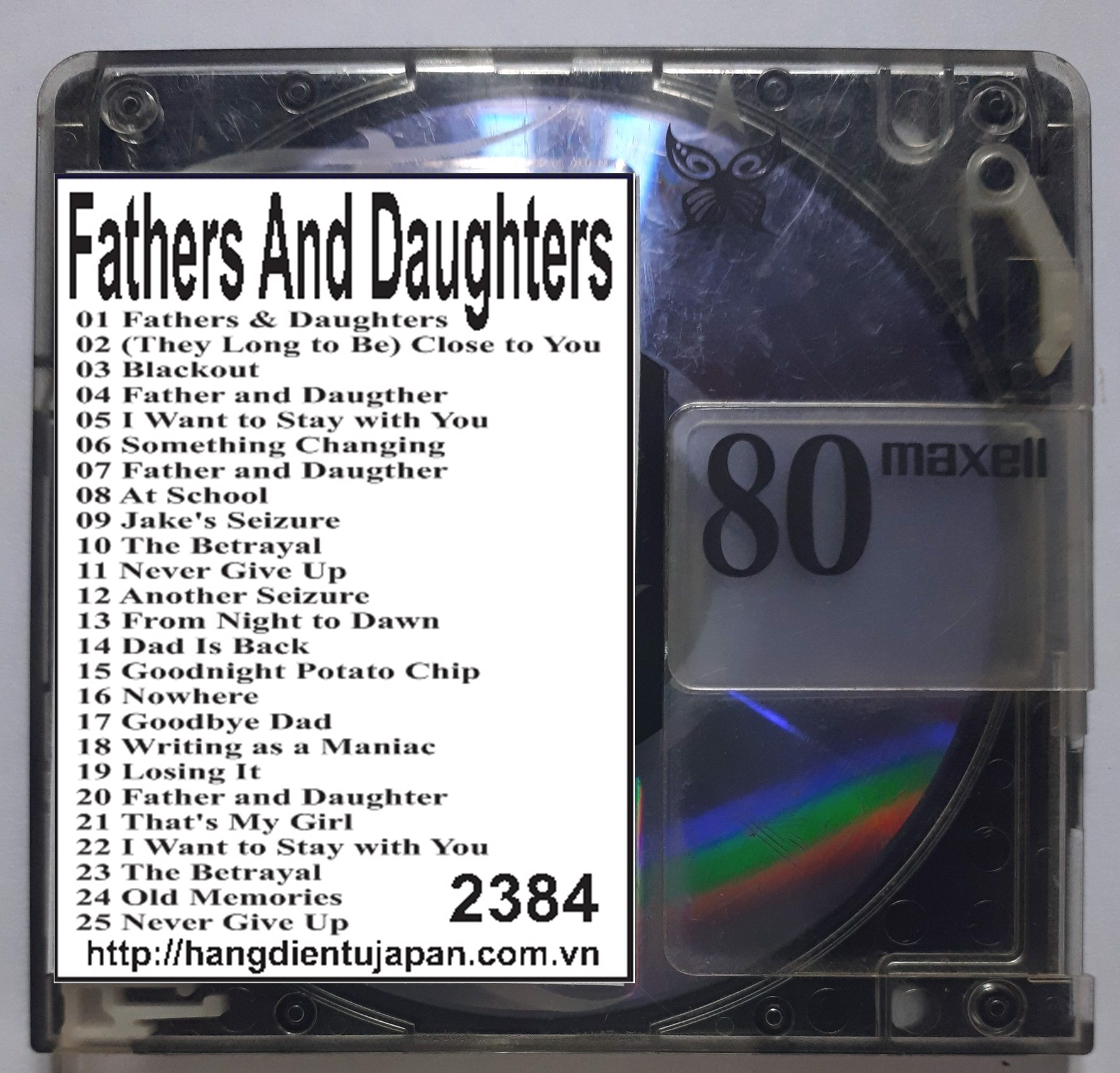 2384. Richard Clayderman & Michael Bolton - Fathers and Daughters (Original Motion Picture Soundtrack)