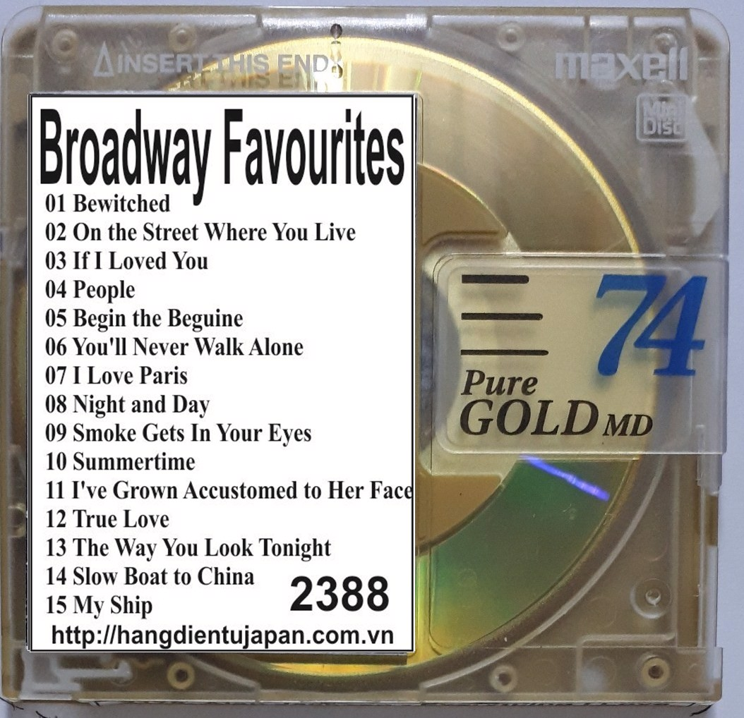 2388. Richard Clayderman - Broadway Favourites