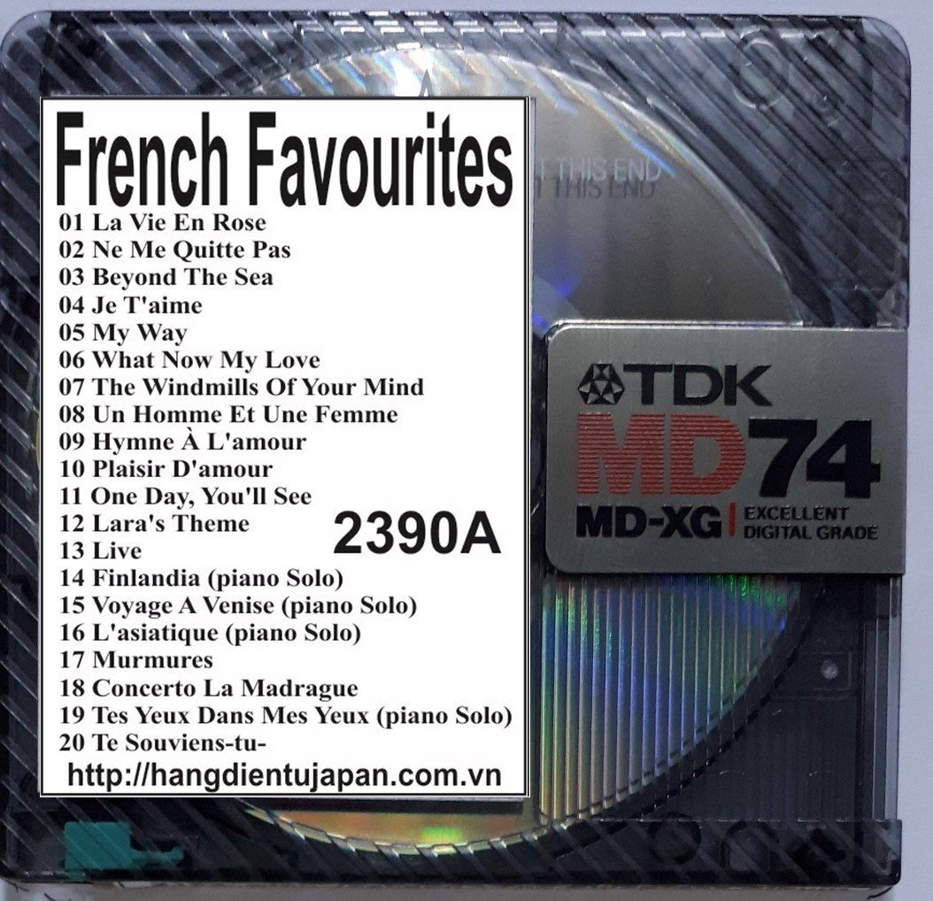 2390A. Richard Clayderman - French Favourites