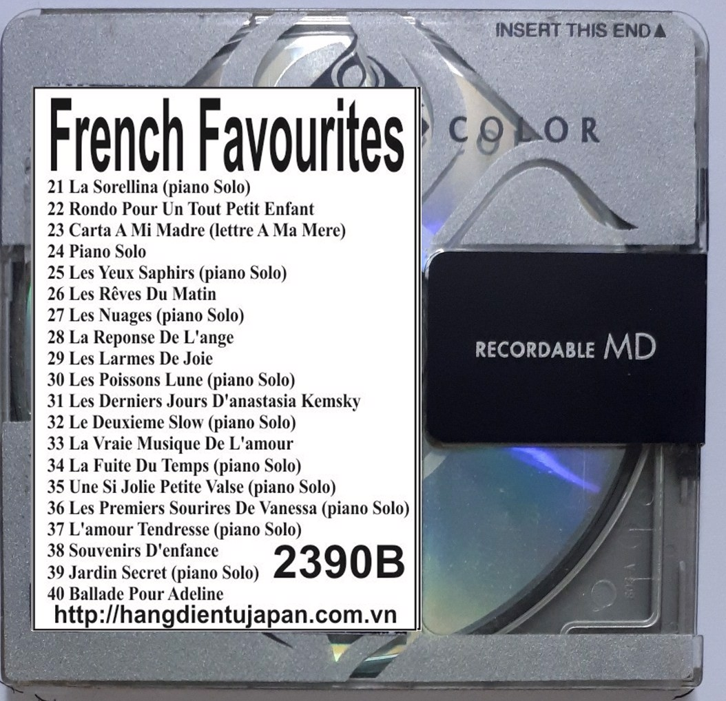 2390B. Richard Clayderman - French Favourites