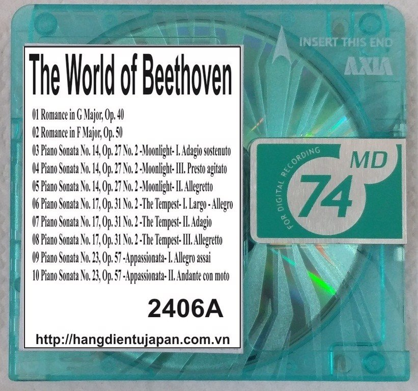 2406A. Ludwig van Beethoven - The World of Beethoven