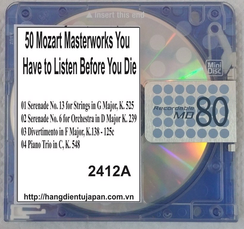 2412A. Wolfgang Amadeus Mozart - 50 Mozart Masterworks You Have to Listen Before You Die (Golden Deer Classics)